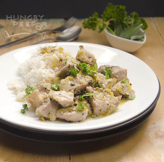 Creamy Pork Stew 3