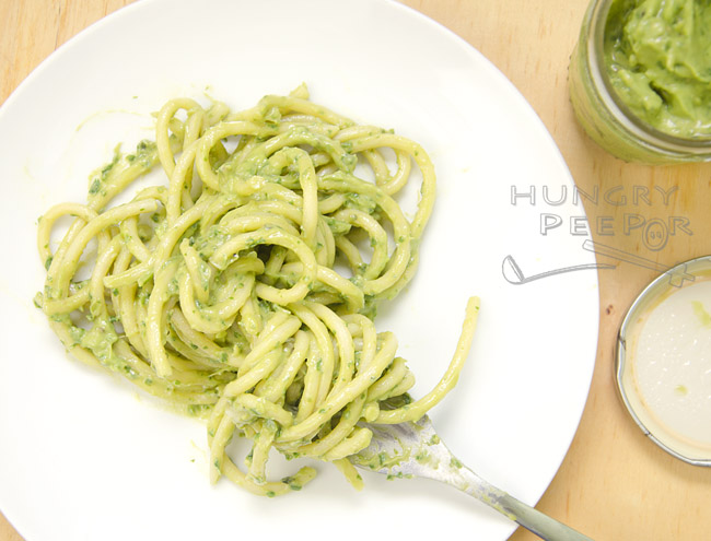 Avocado Pesto Sauce 2
