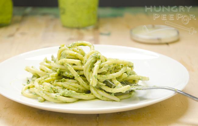 Avocado Pesto Sauce 3