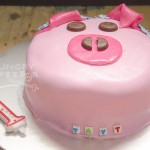 Piggy Birthday Cake 2