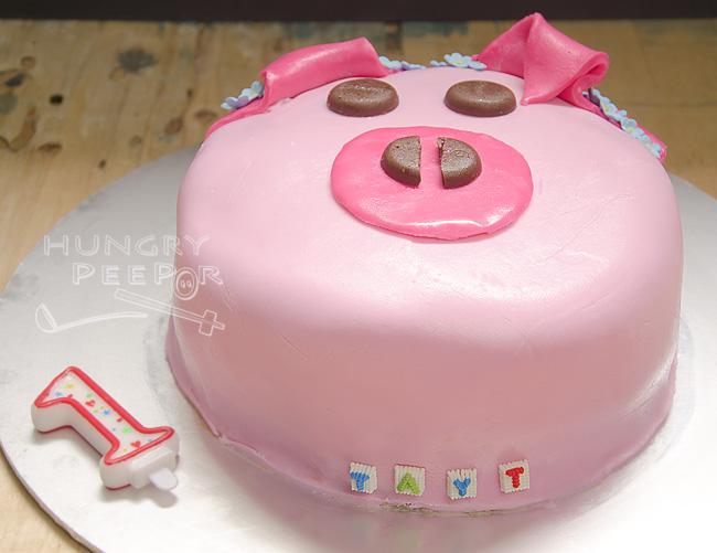 Piggy Birthday Cake 2