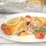 Baked Salmon With Habanero Sauce 2