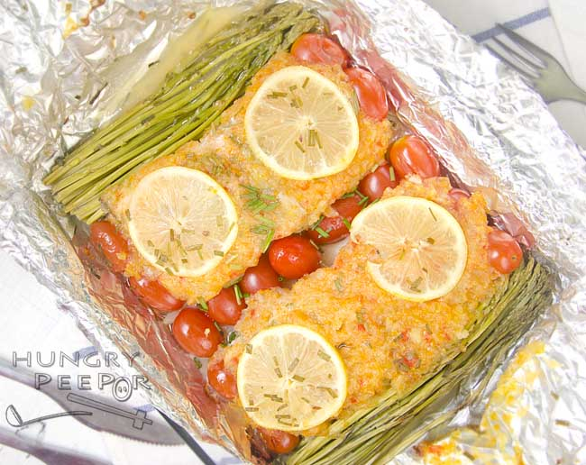Baked Salmon With Habanero Sauce