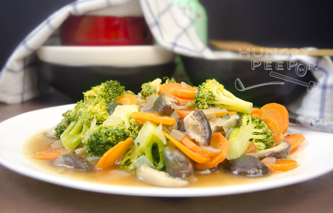 Chinese Broccoli Stir-fry 2