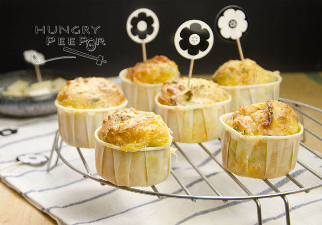 Carrot & Cheese Muffin 3