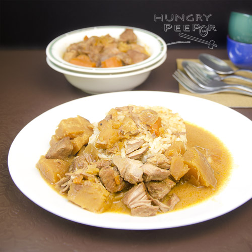 Coconut Curry Pork Stew 2