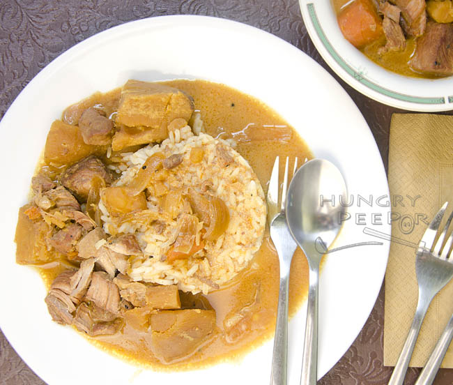 Coconut Curry Pork Stew 3