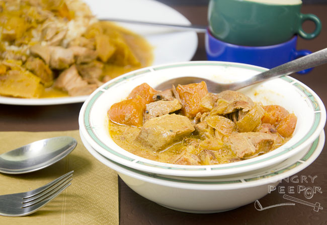 Coconut Curry Pork Stew