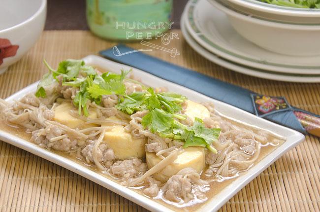 Stir-Fried Silken Tofu With Minced Pork 2