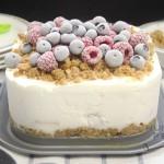 Frozen Fruits Cream Cake 2
