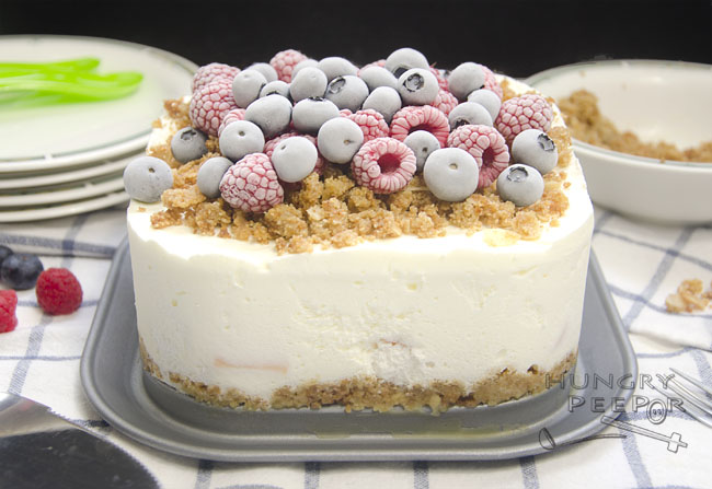Frozen Fruits Cream Cake 2