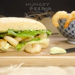 Shrimp with Avocado Mayo Sandwich 2