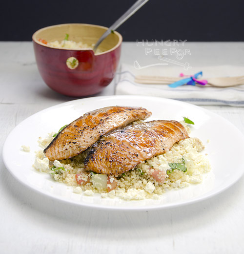 Salmon with Couscous Salad