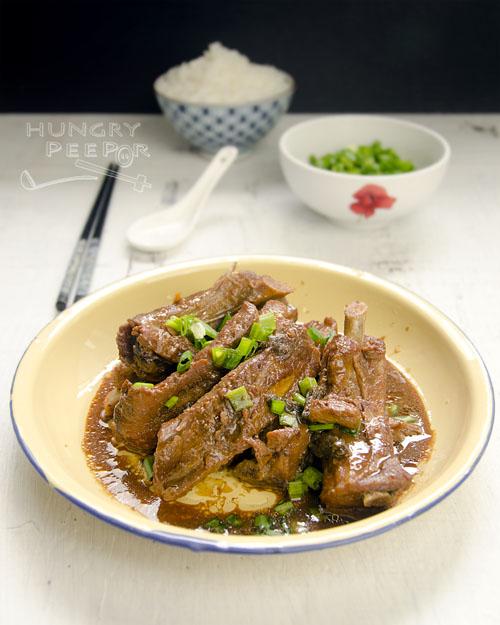 Fermented Beancurd Pork Ribs