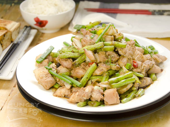 Long Beans & Pork Belly Stir-Fry 2
