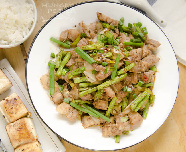 Long Beans & Pork Belly Stir-Fry 3