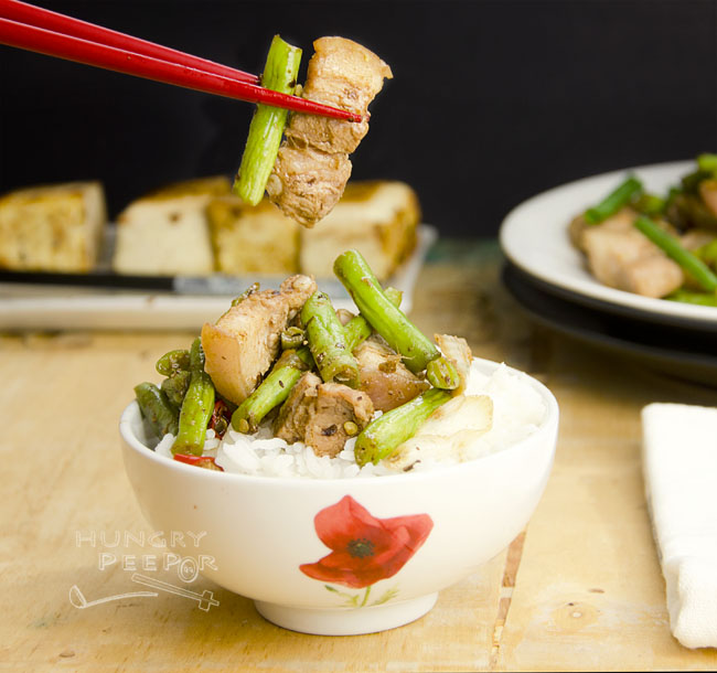 Long Beans & Pork Belly Stir-Fry