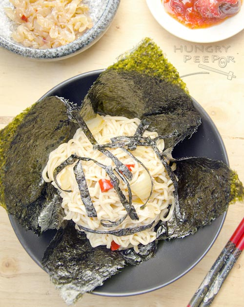 Seaweed Truffle Noodles 3