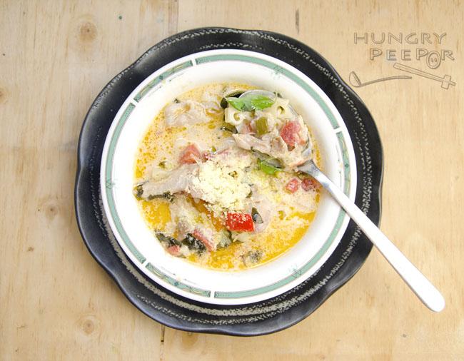 Basil & Parmesan Soup 2