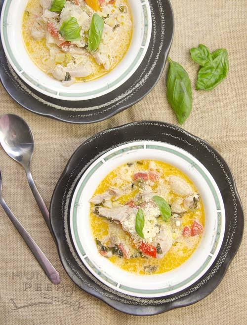 Basil & Parmesan Soup 3