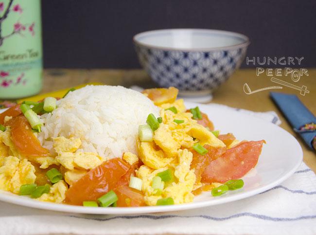Stir-fried Tomatoes & Egg