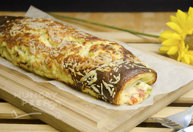 Cheese & Leek Roulade 2