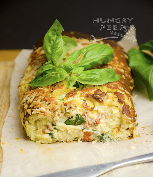 Cheese & Leek Roulade 3