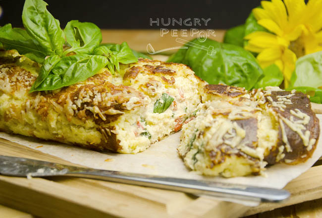 Cheese & Leek Roulade