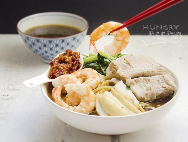 Singapore Prawn Noodle 2